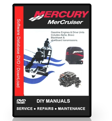 Pay for Mercruiser Service Manual Bravo Sterndrives 1988 - 1998