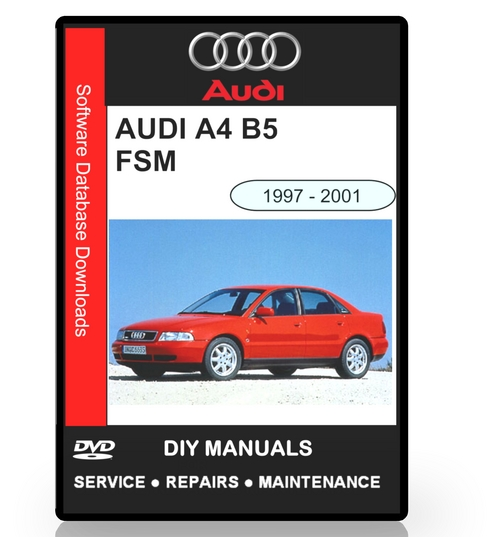 audi a4 b5 workshop service manual 1997 2001 download. Black Bedroom Furniture Sets. Home Design Ideas