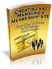 Thumbnail Creating And Managing A Membership Site - MRR