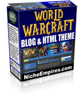 Pay for World Of Warcraft Blog Theme