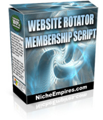 Pay for Website Rotator Membership Script