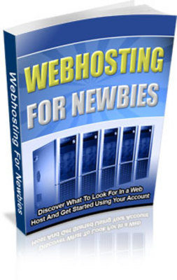 Pay for Web Hosting For Newbies - MRR