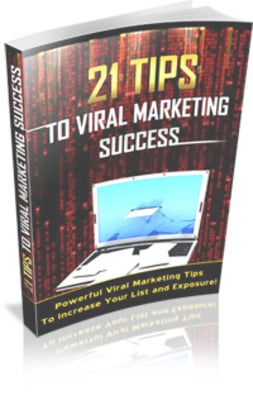 Pay for 21 Tips To Viral Marketing Success - MRR