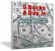 Thumbnail Just Write It, 5 Bucks A Day