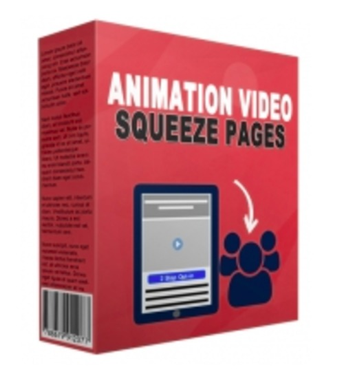 Pay for Animation video squeeze page