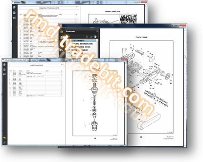 hydraulic excavator inspection diagram hydraulic log loader diagram   elsavadorla 732 Bobcat Parts Bobcat 732 Service Manual