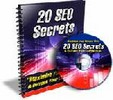 Thumbnail 20 SEO Secrets with resell rights