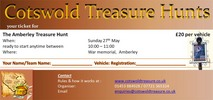Thumbnail Cotswold Treasure Hunt Ticket