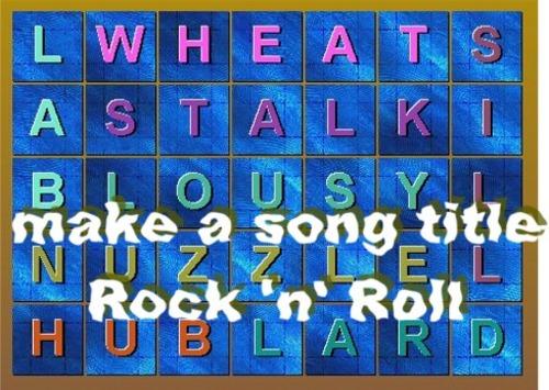 Thumbnail Make A Song Title RocknRoll