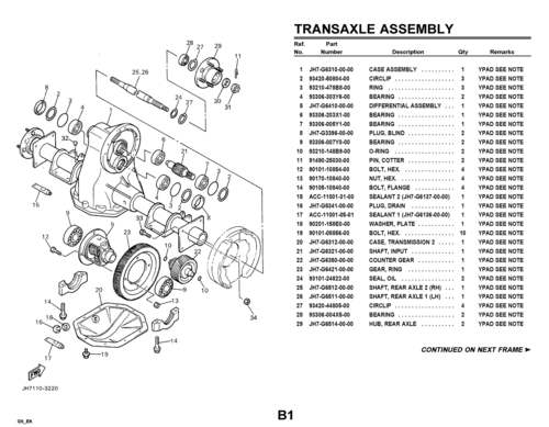 yamaha parts manuals 1979-2004