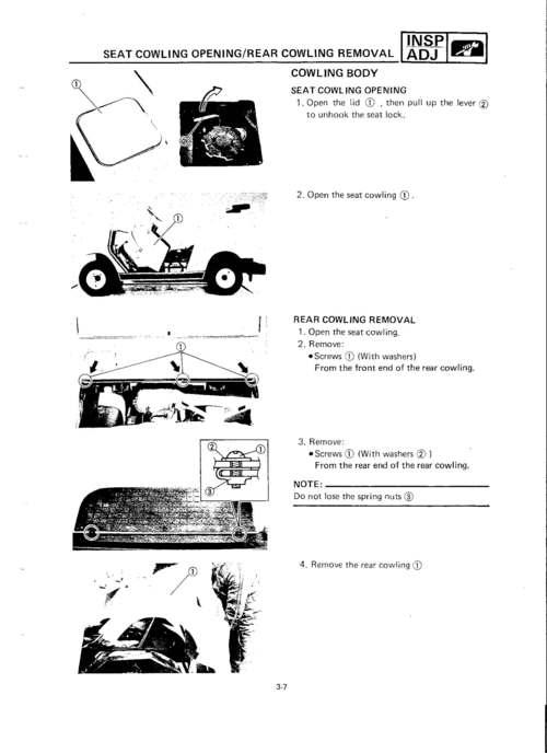 Yamaha Golf Cart G2&G9 Factory Service Repair Manual