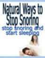 Thumbnail Natural Ways To Stop Snoring Seminar