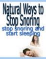 Thumbnail Natural Ways To Stop Snoring Seminar