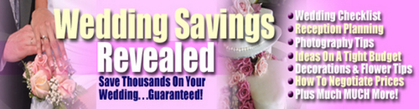 Pay for Wedding Savings Revealed Seminar