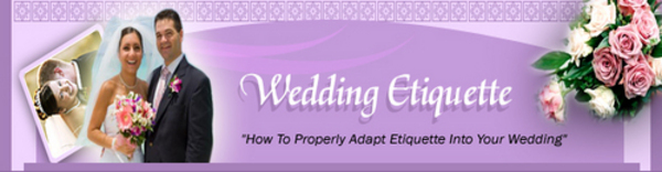 Pay for Wedding Etiquette Seminar