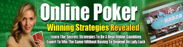 winning online poker strategy