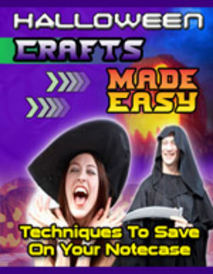 Pay for Halloween Crafts Made Easy Seminar