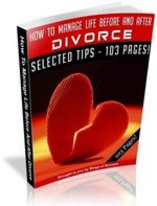 Pay for How To Manage Life Before And After Divorce