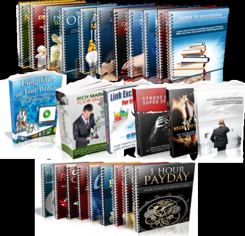 Pay for 525 Home Business Ebooks Download Collection
