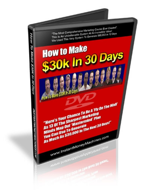 Pay for 30k in 30 Days - Full Video Version