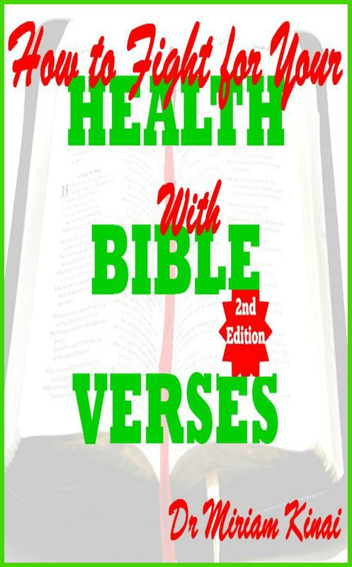 Pay for How to Fight for your Health with Bible Verses 2nd Edition