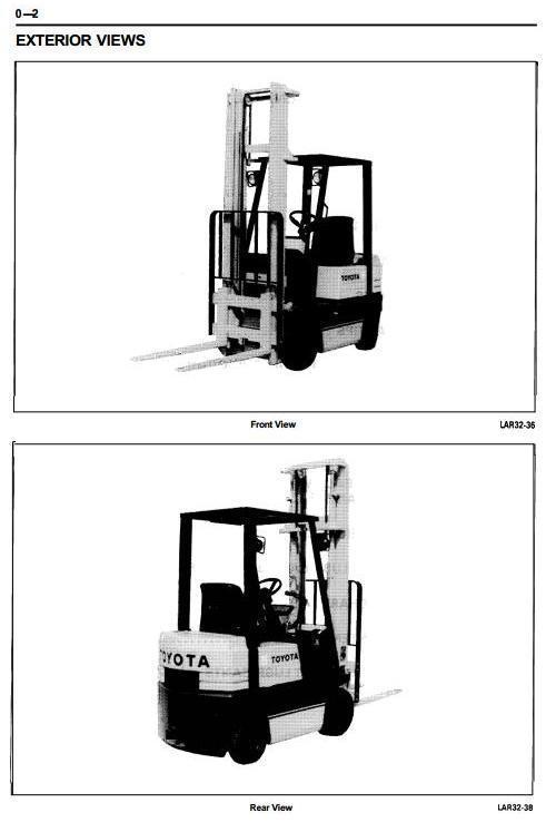 Toyota Lpg Forklift Truck 5fgc10