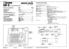 Thumbnail Roland dr5 dr-5 dr 5 rhythm boss complete service manual