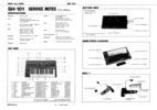 Thumbnail Roland sh101 sh-101 sh 101 complete service manual