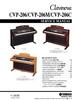 Thumbnail Yamaha cvp-206 cvp206 complete service manual