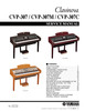 Thumbnail yamaha cvp307 cvp-307 complete service manual