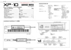 Roland xp10 xp-10 complete service manual