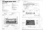 Thumbnail Roland tr909 tr-909 909 complete service manual