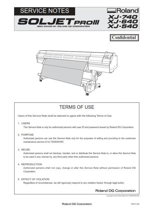 roland service manual