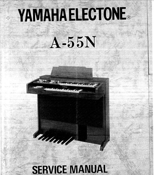 Pay for Yamaha a-55n a55n complete service manual