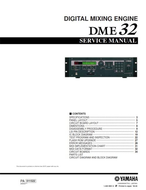 Yamaha Dme Price