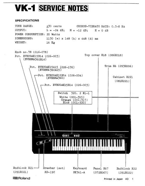 roland vk1 vk 1 complete service manual download manuals te rh tradebit com