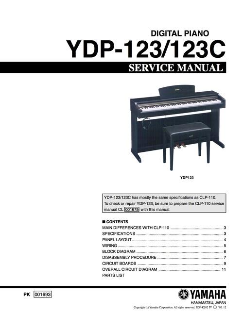 Yamaha Ydp Manual Pdf