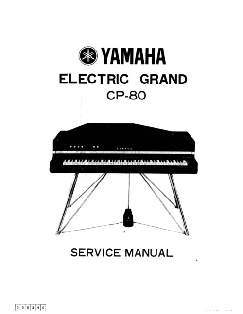 yamaha cp80 cp 80 complete service manual download manuals rh tradebit com yamaha cp 80 service manual Yamaha Electric Grand Piano