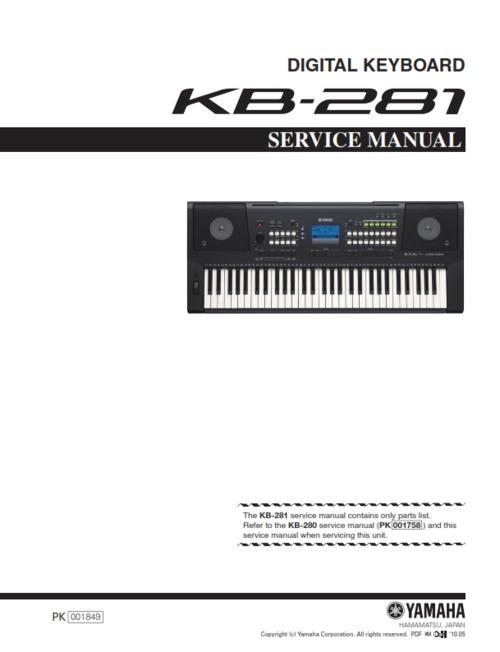 Yamaha Keyboard Manuals Free Download
