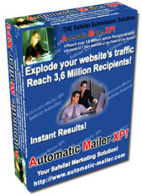 Pay for Automatic Mailer XP - Automatic Safelist Ad Mailer