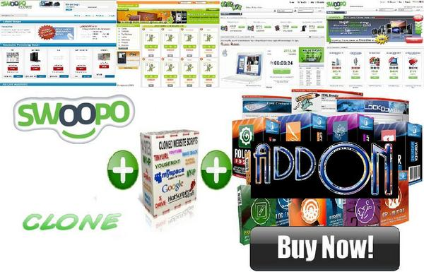 Pay for ultimate swoopo clone+addons