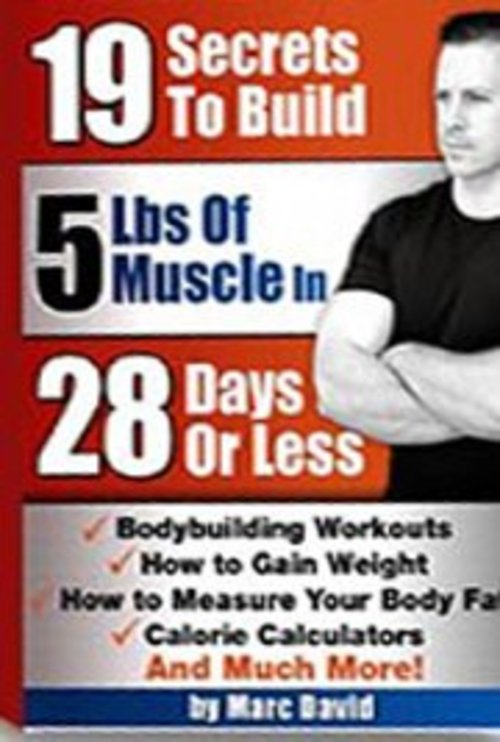 Pay for  19 Secrets to Build Huge Muscles