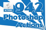 Thumbnail 942 Photoshop Actions Package
