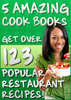 Thumbnail First Class Recipes - 5 of the hottest cook books