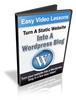 Thumbnail Convert Static Site to WP Blog