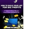 Thumbnail How To Build Your List For Big Profits- John Anderson