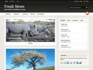 Thumbnail wordpress premier WOOtheme(fresh news) + Bonus: 60