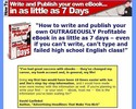 Thumbnail How to Write and Publish Your Own eBook in as Little as 7 Days by Joe Vitale and Jim Edwards