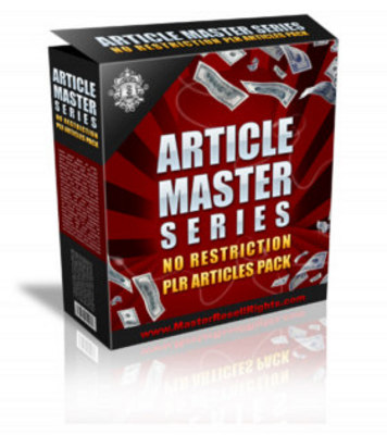 Pay for Article Master Vol.11 + Private Label Rights
