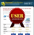 Thumbnail Keyword Research Review Site with User Right